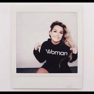 "Forever 21 ""Woman"" hoodie"